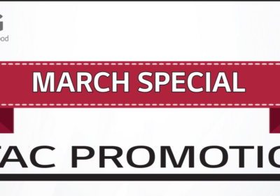 March PTAC Promotion
