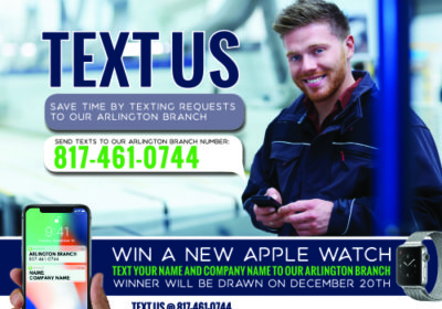 Text Us! 817-461-0744