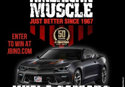 American Muscle Anniversary Sweepstakes