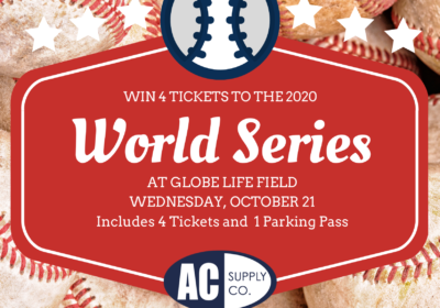 Win 4 Tickets to the World Series