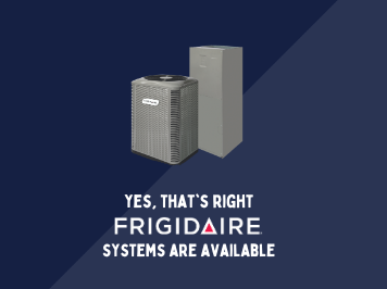 Just the Two of Us! – Frigidaire Equipment is now available at AC Supply.